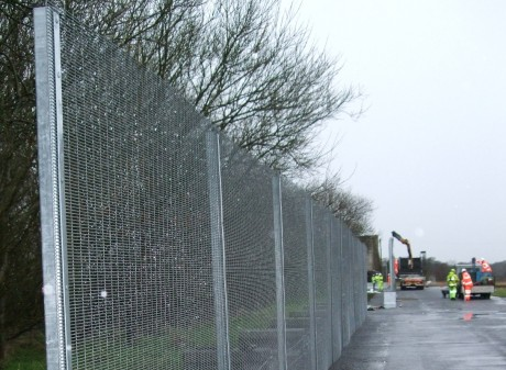 Work begins to install G8 security fence