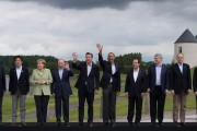 The G8 'family photo' staged today (Tuesday) at the Lough Erne Resort