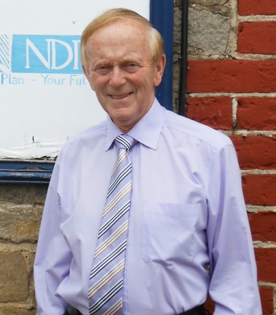 Mervyn Rowe from Kesh, was recognised for his services to the