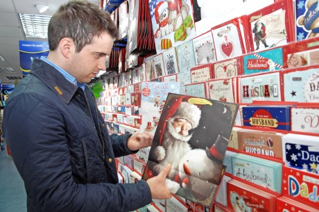 Fermanagh Herald reporter cannot believe he is looking at Christmas cards in