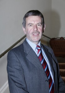 Newly elected Robert Irvine, UUP