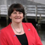 Arlene Foster 'happy' to step into First Minister role