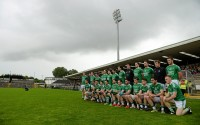 Fermanagh pictured ahead of yesterday's victory over Antrim.
