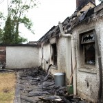 Centuries old Family home left gutted by chip-pan fire