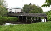Johnston Bridge, Enniskillen where it is claimed the defendent was sleeping rough nearby    RMGFH68