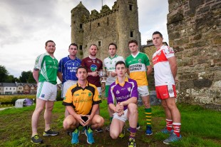 Representatives from each of the clubs competing in the  senior  championship pictured at the club championship  photocall