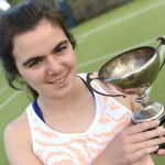 Two titles for Cousins at the Derry senior tennis championships