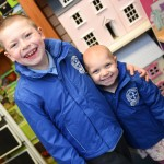 Brave Eloise starts primary school after battle with cancer