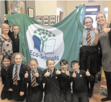 Staff and Pupils from Erne Integrated