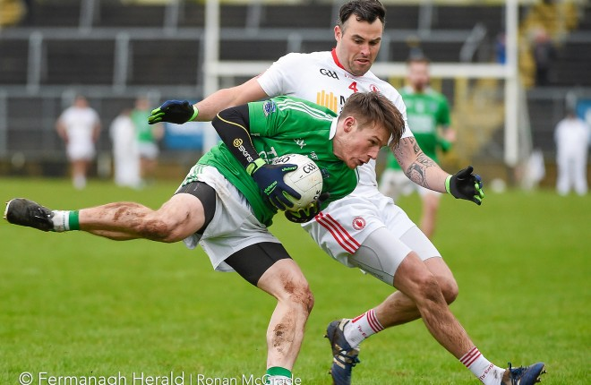 Action from the Dr McKenna Cup semi final between Fermanagh and Tyrone