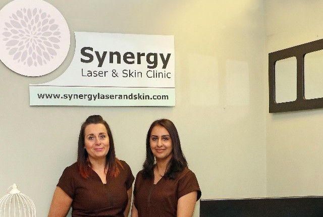 Synergy's owners Rachel Galbraith and Saddiya Akram look forward to welcoming you to their newly opened clinic