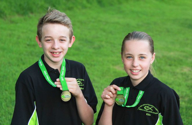 Oisin McManus and Ellie McCartney - Irish Champions