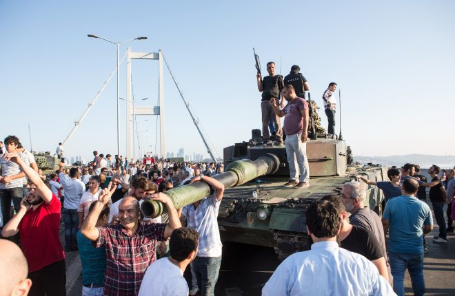 A military coup attempt plunged Turkey into violence on July 16 in Istanbul  Picture: deepspace/Shutterstock.com