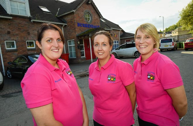 Deborah Robinson, Clare Maguire and Lindsey Ovens of Burrendale    RMG73