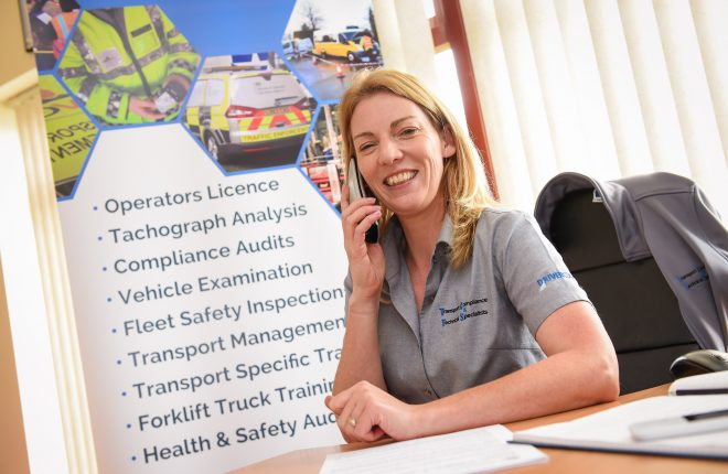 Roisin McDonnell of Transport Compliance and Technical Specialists    RMG53