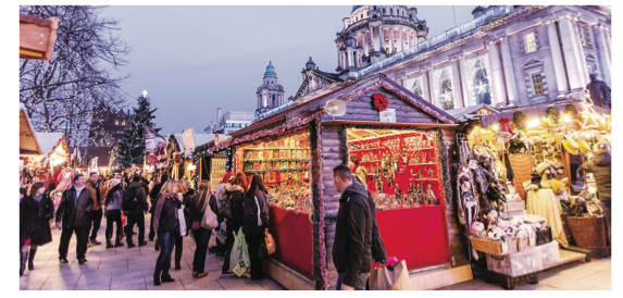 Belfast is only down the road but right up your street this Christmas