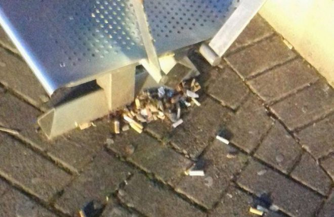 A user of Enniskillen Bus Station was unhappy with how unclean it was