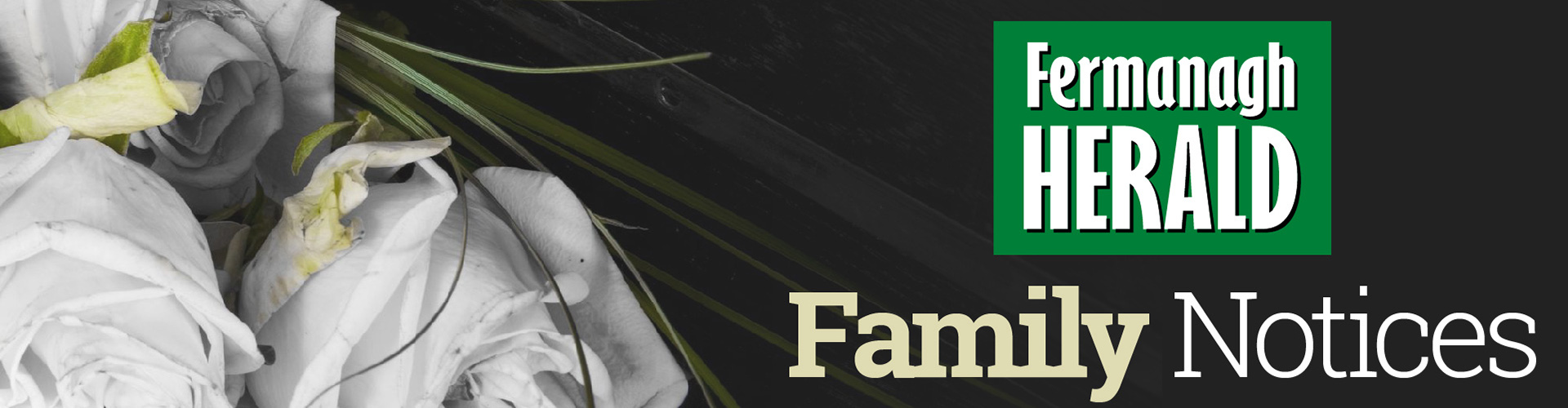 Family Notices Header