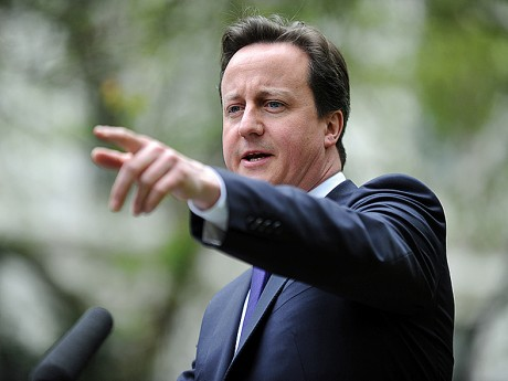 VIABLE...British PM David Cameron is 'determined to win' the fracking debate