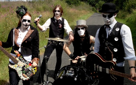 Local band pledge cadaver club' Jolene Phair, Kevin McHugh, Matt and Phil Cassidy are 'Cadaver Club'