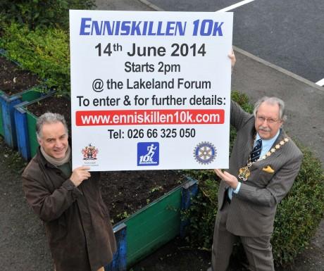 Enniskillen 10K launch