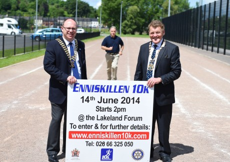 Enniskillen 10K Launch