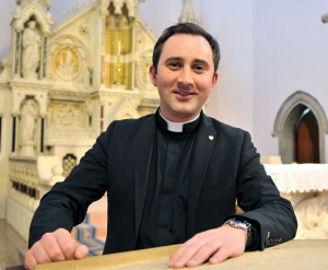 Fr. Raymond Donnelly, now curate at St. Michael's Enniskillen