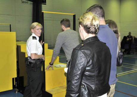 PSNI Recruitment event in the Lakeland Forum s