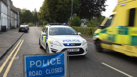 Diversions in place at The Brook, Enniskillen following an RTC on Tuesday evening