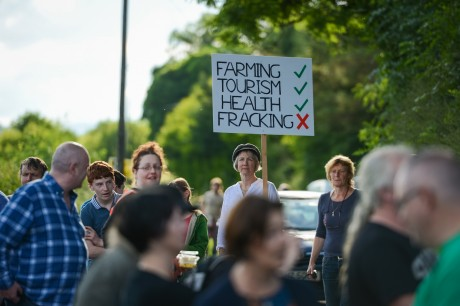 Fracking Protest - Belcoo