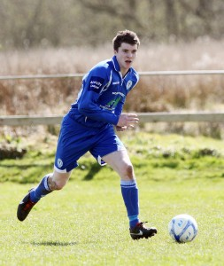Ballinamallard-bound Aaron O'Hagan in action for Finn Harps.