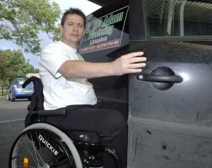Cormac McAdam Injured at Work