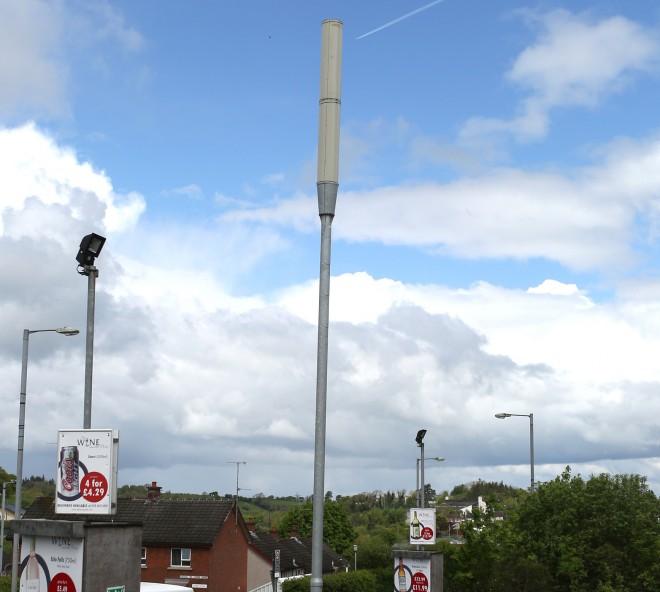 Light Tower Baseball Training: At Last Boho Gets A Mobile Phone Mast!