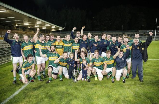 Irvinestown, the Intermediate Championship winning side