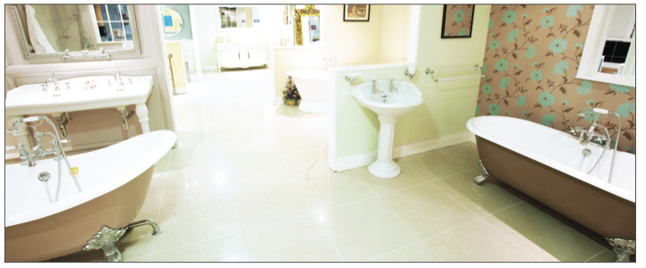Kildress Plumbing Suppliers can help you create the bathroom and kitchen of your dreams. There are a range of discounts available on bathrooms, showers and tiles during their May event.