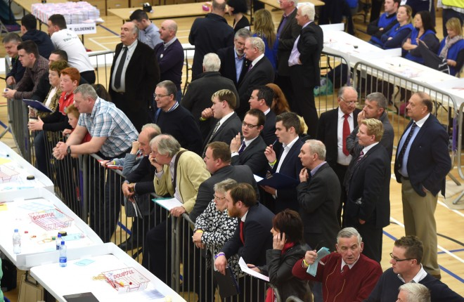 Counting gets underway at the Omagh Leisure Complex this Friday  MC54
