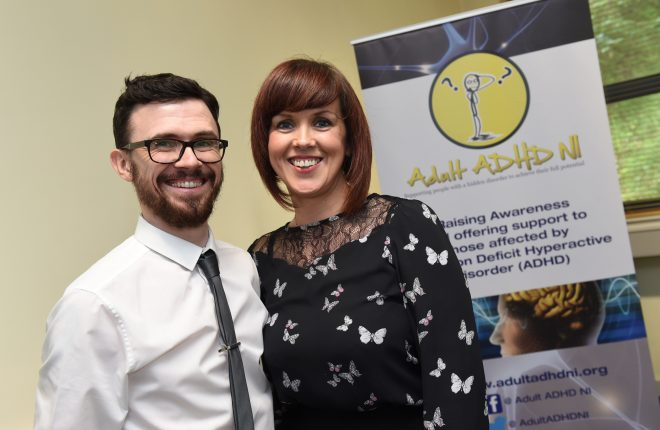 Niall Greene and Emma Weaver of Adult ADHD NI    RMG14