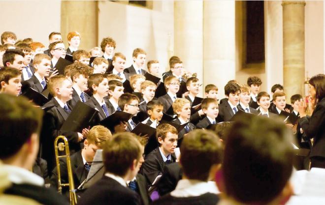 St Michael's choir lead by Grainne Hanratty