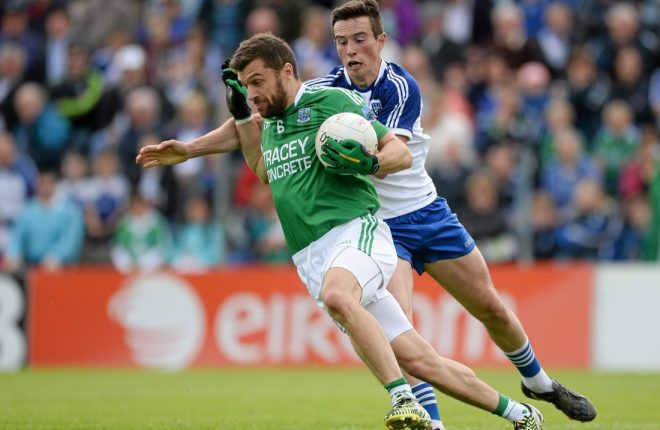 Ryan McCluskey is set to return to county action for the first time since lining out against Galway last March in the League.