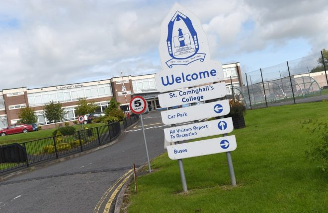 NEW NAME TO BE REVEALED…St Comhghall's College, Lisnaskea