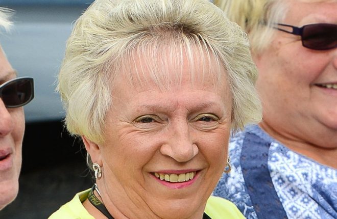 Valerie Brown was awarded a BEM for services to the community in Northern Ireland    RMG11