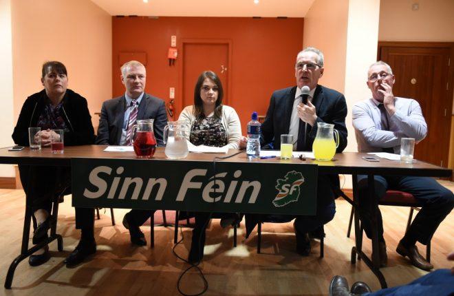 Public meeting in Donagh GAA