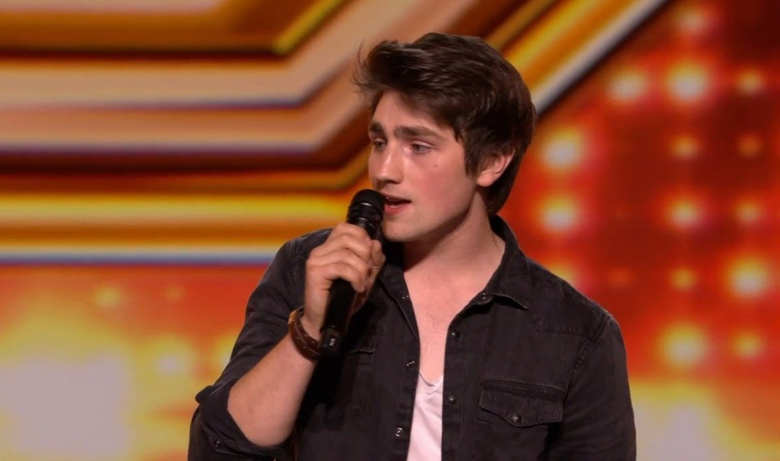 Singer Brendan looking for your vote in X Factor